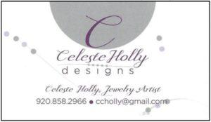 celeste holly business card